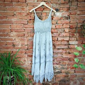 Hippie denim dress